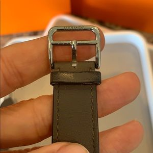 Hermes Accessories - Hermès Apple Watch Double Band - Grey